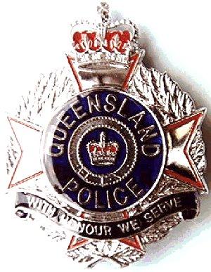 QLD POLICE BADGE QC